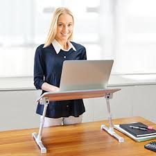 Laptop Bed Desk Avantree Quality Adjustable Laptop Table Portable Standing Bed