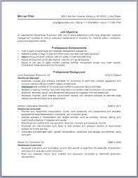 Warehouse Management Resume Sample by Warehouse Manager Resume Sample Template Design