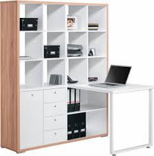 Schreibtisch Aus Eiche Maja Möbel Minioffice Mae Schreibtisch Mit Regal 9560