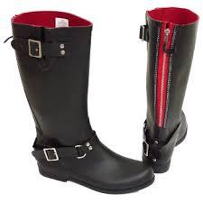 womens boots size 11 wide womens black or wide calf biker zip up wellington rubber