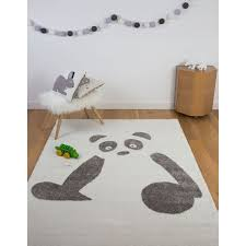 chambre bébé panda tapis panda rectangle chambre de bebe par for