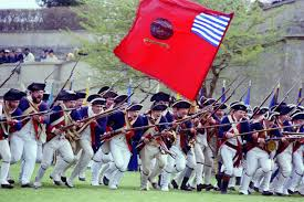 British Flag During Revolutionary War Rifles That Made America Revolutionary War Strike Hard Gear