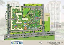 plan layout layout plan amrapali silicon city sector 76 noida residential