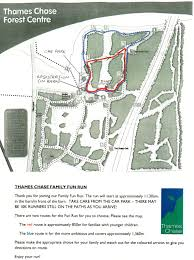 Map Your Run Thames Chase Community Forest U0027s Annual 10k And Family Fun Run