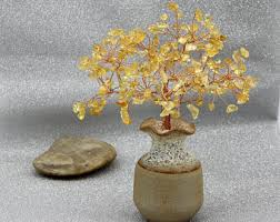 beaded bonsai etsy