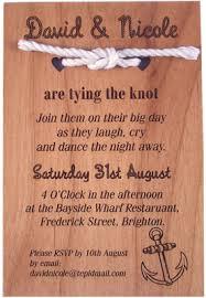 wedding invitations knot timber wedding invitations