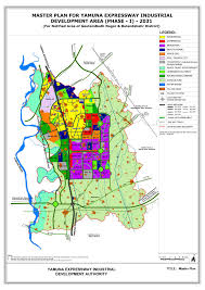 Greater Noida Metro Map by Anindyain Infrastructuress