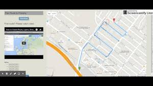 Google Maps Running Route by Draw Route On Google Map Youtube