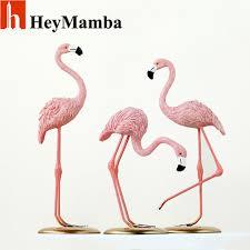 pink flamingo home decor heymamba resin pink flamingo home decor figure for girl hot