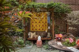 english garden ideas sunny area photograph intimate sittin