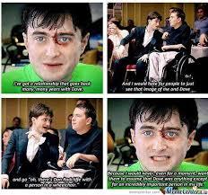 Daniel Radcliffe Meme - respect daniel radcliffe by memegod34 meme center
