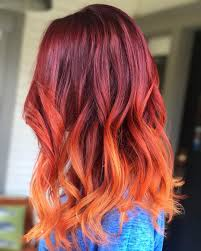 hombre hairstyles hair color trends for 2018 red ombre hairstyles pretty designs