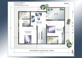 2bhk House Plans 30 X 60 House Plans East Facing With Vastu 3040 Face Plan