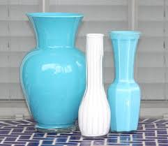 How To Paint A Vase Desperate Craftwives Acrylic Painted Vases