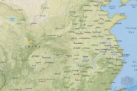 Dalian China Map Nearly 60 000 Evacuated After Quake In China U0027s Touristy Jiuzhaigou