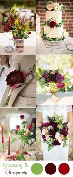 wedding colors the stunning colors of white burgundy wedding 10 greenery wedding colors inspired by pantone color of 2017