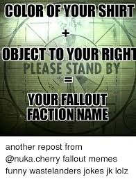 Funny Fallout Memes - 25 best memes about fallout factions fallout factions memes