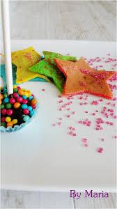 defi cuisine etoiles avec la pâte à tartiner pour le défi cuisine multicolore