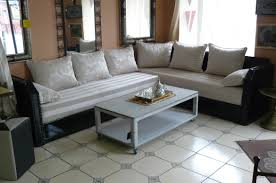 decoration maison marocaine pas cher indogate com salon blanc et bois