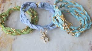 bracelet chain diy images Deeellely diy chain bracelets pastel colors for the spring JPG