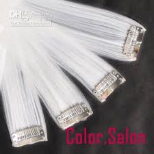 white hair extensions 2018 20 clip in hair extensions usa promotion white remy cuticle