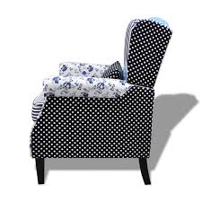 Relax Armchair Patchwork Relax Armchair Country Living Style Vidaxl Com