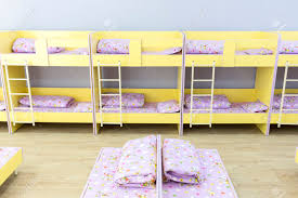 Bunk Beds For Kids Modern by Modern Kindergarten Bedroom With Small Bunk Beds With Stairs