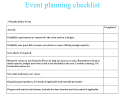 printable party planner checklist event planning checklist function fixers