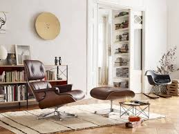 Small Chair And Ottoman by Eames Lounge Chair U0026 Ottoman Armchair Vitra