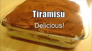 tiramisu classic authentic italian recipe tiramisu dessert youtube