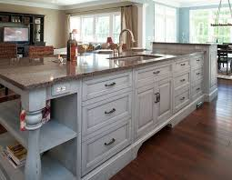 Kitchen Island Chopping Block Kitchen Island With Sink And Dishwasher Dimensions Rectangular