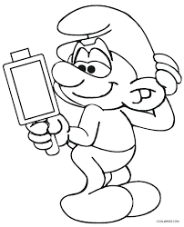 smurf coloring pages the smurfs coloring pages download and print u2013 vonsurroquen me