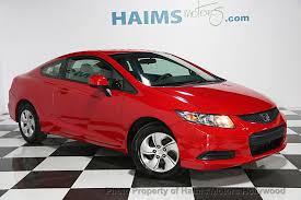 2013 used honda civic 2013 used honda civic coupe 2dr automatic lx at haims motors