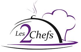 logo chef de cuisine les 2 chefs en valais service traiteur de qualité cours de