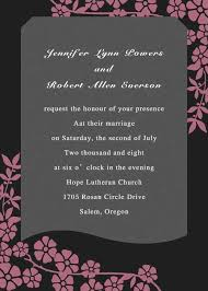 Wedding Invites Online Unique Wedding Invitations Online Pink And Black Ewi048 As Low As