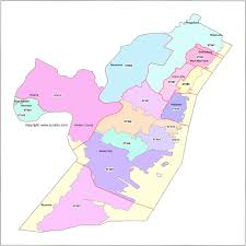 Zip Code Map by Hudson County Nj Zip Code Boundary Map