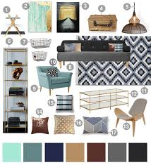 Livingroom Inspiration Blue Grey Mood Board For Living Room Inspiration Board Decor