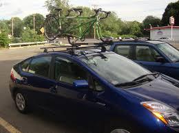 toyota prius bike rack toyota rack attack boston s