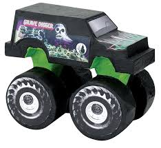 original grave digger monster truck amazon com monster jam party supplies grave digger pinata toys