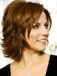 hairstyle for older women short style in warm mahogany 50 hot hairstyles for women over 50