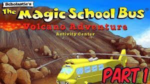 scholastic u0027s the magic bus part 1 volcano adventure