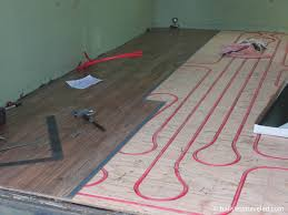 laminate flooring radiant heat flooring design