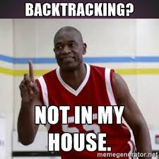 Mutombo Meme - finding value in failure rex booth