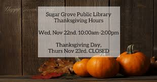 home sugar grove library