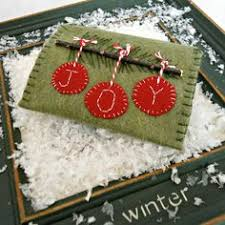 felt gift card holder ornament tutorial with free printable