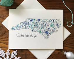 snowflake card etsy