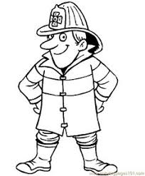 firefighter coloring kids coloring u0026 activity pages