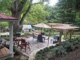 Patio Trellis Ideas Two Post Pergola Patio Tropical With Backyard Retreat Curved Steps