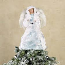 lighted tree topper winter angel christmas tree topper