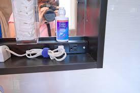 100 medicine cabinet with electrical outlet amazon com kohler k